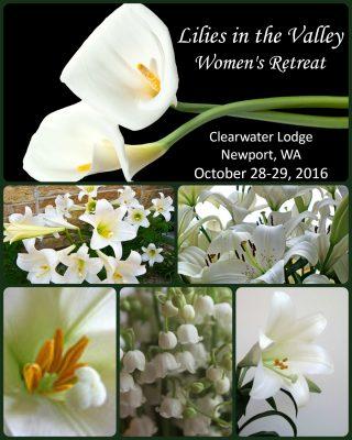 Lilies Retreat II - PicMonkey Collage
