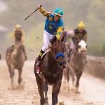 Triple Crown American Pharoah & jockey