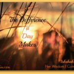 Ishshah's Story – The Difference a Day Makes