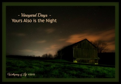 Yours Also is the Night